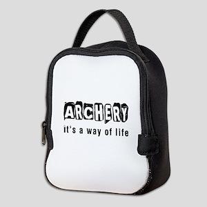 Archery it is a way of life Neoprene Lunch Bag