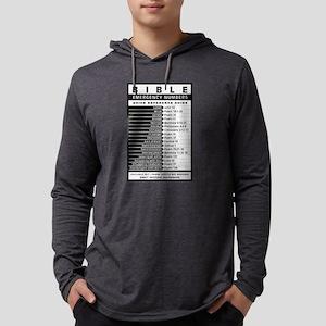 Bible emergency numbers Long Sleeve T-Shirt