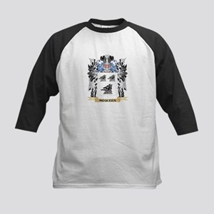 Mcqueen Coat of Arms - Family Cres Baseball Jersey