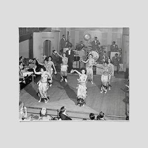 Cabaret Dancers, 1941 Throw Blanket