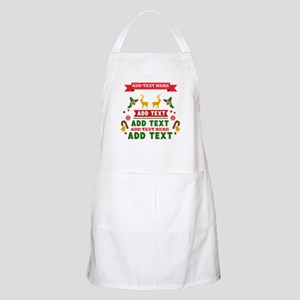 personalized add text christmas apron - Christmas Apron
