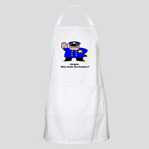 Alright who stole the kishka BBQ Apron