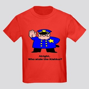 Alright who stole the kishka Kids Dark T-Shirt