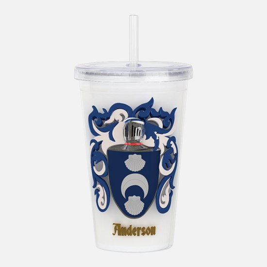 Anderson Family Crest Acrylic Double-wall Tumbler