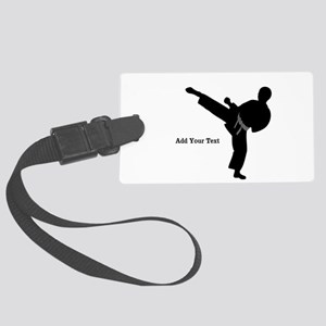 Karate Luggage Tag