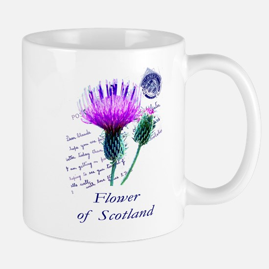 Flower of Scotland Mugs