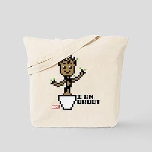 Guardians 8-Bit Groot Tote Bag