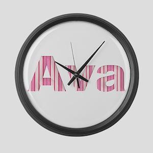 Ava Large Wall Clock