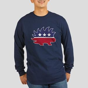 Libertarian party Long Sleeve Dark T-Shirt