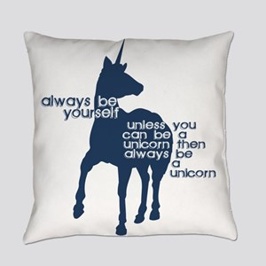 Unicorn Humor Everyday Pillow