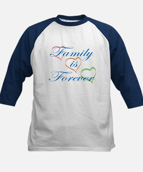 Family is Forever Kids Baseball Jersey