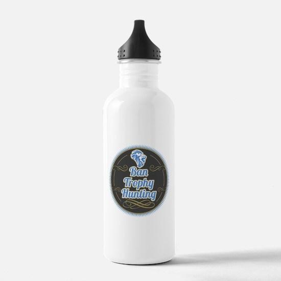 Ban Trophy Hunting Water Bottle