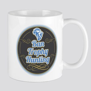 Ban Trophy Hunting Mug