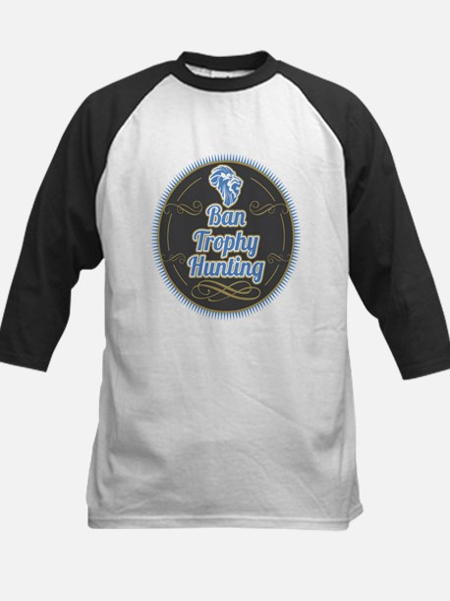 Ban Trophy Hunting Kids Baseball Jersey