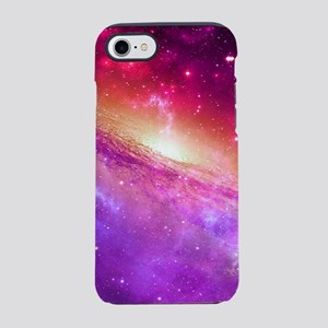 Red And Purple Nebula iPhone 8/7 Tough Case