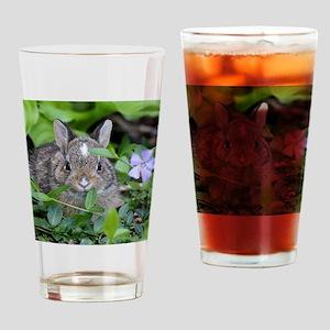 Baby Bunny Drinking Glass