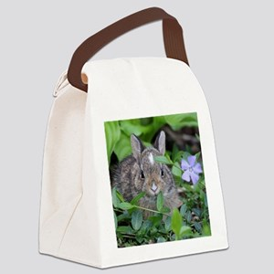 Baby Bunny Canvas Lunch Bag
