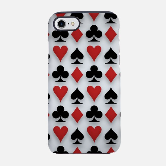 Spades Clubs Diamonds and He iPhone 8/7 Tough Case