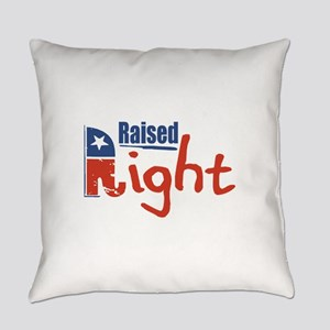 Raised Right Everyday Pillow
