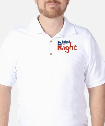Raised Right Golf Shirt