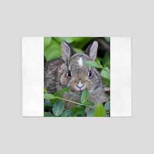 Baby Bunny 5'x7'Area Rug