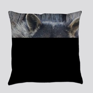 Raccoon in a Tree Everyday Pillow