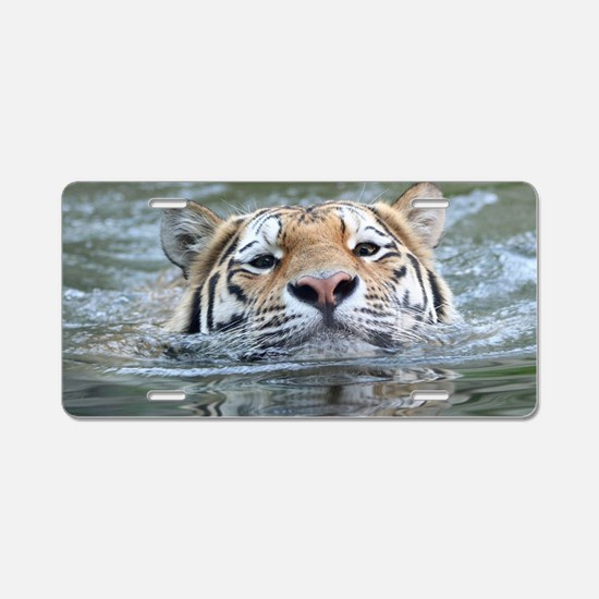 Tiger005 Aluminum License Plate