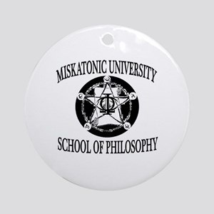 Philosophy Department Round Ornament