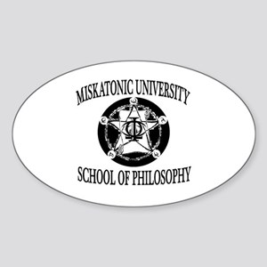 Philosophy Department Sticker (Oval)