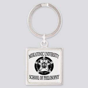 Philosophy Department Square Keychain