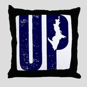 UP Michigan Throw Pillow
