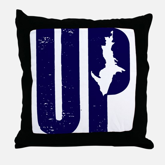 UP Michigan Throw Pillow