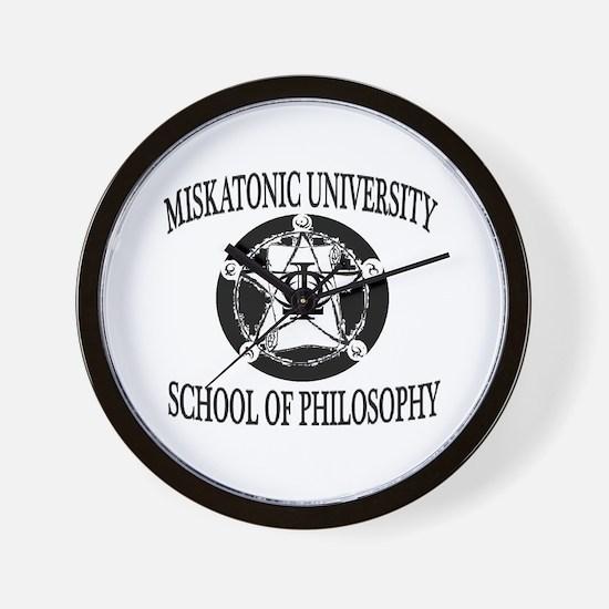 Philosophy Department Wall Clock