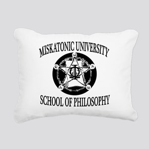 Philosophy Department Rectangular Canvas Pillow