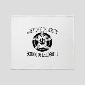Philosophy Department Throw Blanket