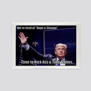 Trump Kick Ass and Take Names Magnets