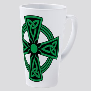 Celtic Cross 17 Oz Latte Mug