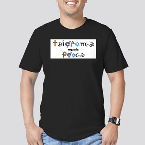 Tolerance = Peace Ash Grey T-Shirt