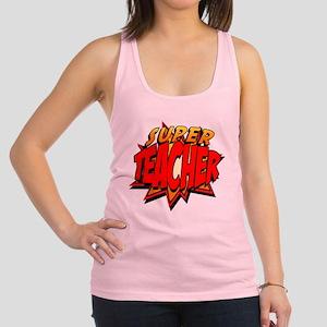 bc8f1f687c154a Superhero Teacher Women s Racerback Tank Tops - CafePress