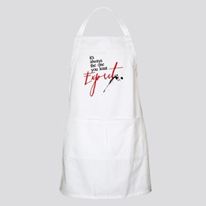 It's Always Who You Least Expect Apron