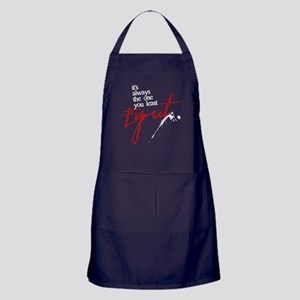 It's Always Who You Least Expect Dark Apron