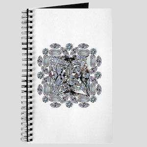 Diamond Gift Brooch Journal