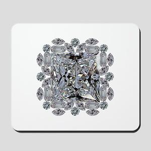 Diamond Gift Brooch Mousepad