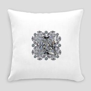 Diamond Gift Brooch Everyday Pillow