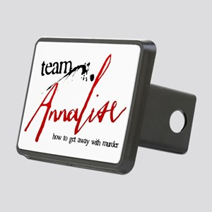 Team Annalise Rectangular Hitch Cover