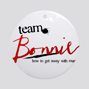 Team Bonnie Round Ornament