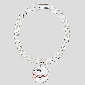 Team Bonnie Charm Bracelet, One Charm