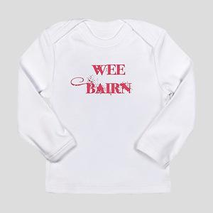 Wee Bairn - Pink Long Sleeve T-Shirt