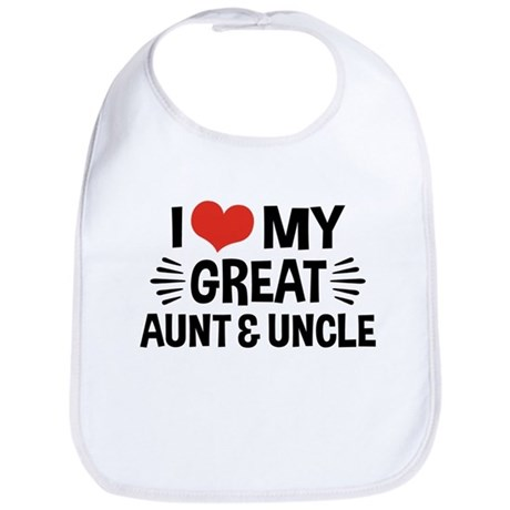 I Love My Great Aunt & Uncle Bib