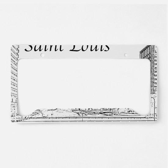 Unique St louis License Plate Holder